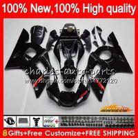 BODOS PARA YAMAHA YZF600 GLOSSY BLACK YZF-600 600CC YZF-R6 YZF R 6 R6 58HC.1 YZF 600 YZFR6 98 99 00 01 02 1998 1999 2000 2001 2002 Carreyo