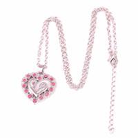 L10 Moms Jewelry Regalo di compleanno Madre Baby Heart Pendant Mom Daughter Figlio Bambino Famiglia gioielli collana