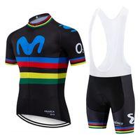 Team Negro Colorido M Ciclismo Jersey 20D Pad Bike Shorts Sets Sets Mens Ropa Ciclismo Maillot Culotte Bicicling Top Bottoms Traje