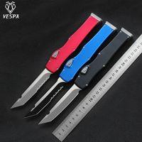 VESPA Versione coltello lama: D2 Maniglia: Alluminio, la sopravvivenza all'aperto EDC caccia tattico strumento coltello da cucina la cena