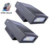 30W LED Duvar Paketi Işık 0-90 ° Ayarlanabilir Lamba Gövde 3300LM 5000K Günışığı 200 Watt HPS / HID Güvenlik Aydınlatması Geniş Aydınlatma Ticari