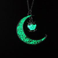 hibou Shine lune de Bohême Mode Femmes Charm Brillante Colliers Pendentifs Bijoux fantaisie Collier tendance pour les cadeaux