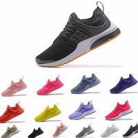 الأكثر مبيعا 2019 PRESTO 5 BR QS تنفس أسود أبيض أصفر أحمر أحذية رجالي أحذية للنساء
