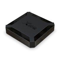 X96Q TV Boîte Android 10.0 2GB RAM 16 Go Smart TV Box Allwinner H313 Quad Core Netflix YouTube Set Top Box Boîte Media Player