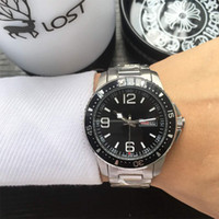 Luxury Mens Watch Automatic Mechanical Double Calendar Comma...