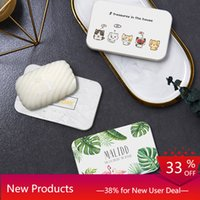 Cartoon Diatom Soap Mats Diatomaceous Earth Washbasin Waterp...