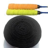 스웨트 밴드 1 롤 10 M 반 미끄럼 수건 배드민턴 그립 자체 접착 땀 밴드 테니스 낚시 낚싯대 스포츠 테이프를위한 핸드 랩