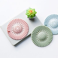 Silicone Hair Catcher No Slip Suction Cups Drain Cover Hair Stopper Sink Strainers Bathroom Drains Strainer Drain