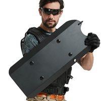 El escudo de metal de aleación de aluminio protege la parte del brazo y agarra la cubierta mecánica con una mano