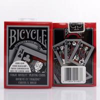 마술사를위한 카드 갑판 포커 크기 USPCC 한정판 매직 카드 닫습니다 스테이지 마술 트릭의 소품을 재생 자전거 비극적 로열티