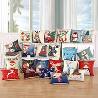 1Pcs 45x45cm Pillow Case Merry Christmas Decorations for Hom...