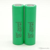 300pcs 100% de alta calidad INR 25R Baterías 18650 2500mAh 3.7V IMR para LG SONY Samsung recargable de litio de la célula