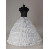 6 lignes Petticoat Crinoline pour la mariée Robes de mariée Petticoat Accessoires de mariée Robe de soirée Robes de balle Accessoires Livraison Gratuite