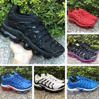 2019 New Nike Air Max Vapormax TN Plus Shoes Tns Rainbow Scarpe casual da uomo True Grape Triple Nero Designer Scarpe Sherbet Rosso Nero Bianco Sneakers noir size 40 45