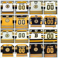 2010 겨울 클래식 Boston Bruins 저지 모든 이름으로 주문 제작 빈티지 하키 유니폼 맞춤형 믹스 주문 노스탤지어 저지