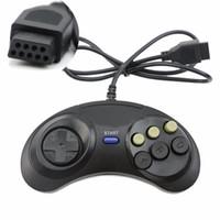 Classic Game Controller Joypad per Genesi 6 Pulsante Gamepad per SEGA Mega NAVE VELOCE Unità di alta qualità