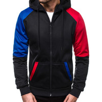 Winter Men' s sweatshirt hoodies moletom Casual Patchwor...