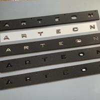 3D 2019 رسائل جديدة الخط شعار لشركة فولكس فاجن CC ARTEON السيارات التصميم إعادة تجهيز الأوسط الجذع شعار شارة لاصقة