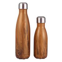 Inossidabile di alta qualità 17 once Cola Bottiglia di trasferimento a doppia parete isolante Acqua stampa Student Sport bottiglia di acqua grande per Gym Bp