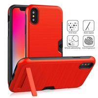 2 in 1 Private patent case For iPhone XS MAX XR 8 plus Card ...