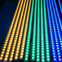 LED Duvar Boyama 24W DMX 512 AC85-265V RGB Led Flood Işıklar IP65 Dış Aydınlatma Bahçe Bina Köprüsü Peyzaj