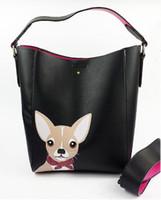 e342017ce4a2e Yeni Gelenler. Tasarımcı sevimli tavşan, yavru çanta bayanlar marka yüksek  kaliteli deri kova çanta moda küçük taze messenger çanta