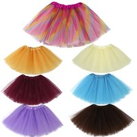 Cute High Quality Baby Girls Kids Solid Tutu Ballet Skirts F...