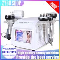 Nouveau 6 in1 40k cavitation aspirateur anti-âge multiolaire tripolaire RF Bio HotCold Hammmer Slim Machine