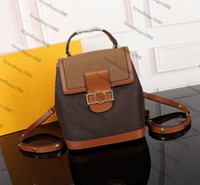 Hight quality Women' s Backpack genuine leather children...