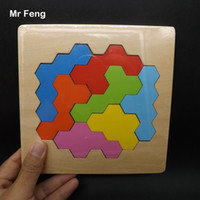المخ دعابة خشبية العسل لغز بانوراما لعبة هندسية لعبة طفل تعليم الدعامة التعليم (نموذج رقم B239)