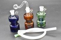 جديد 10 ملليمتر الإناث الزجاج بونغ أنابيب المياه سميكة بيركس dab منصات النفط بونغ سميكة إعادة تدوير النفط منصة للتدخين مع 10 ملليمتر أنابيب النفط الموقد والخرطوم