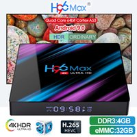 H96 Max Android 9.0 TV Box RK3318 4 GB 32/64 GB Quad Core 2,4 G / 5 G Wifi BT 4.0 Smart TV Box