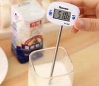 2019 novo Digital Cozinhar Alimentos Sonda de Carne Termômetro Doméstico Cozinha Carne Termômetro Cozinha CHURRASCO Caneta TA288