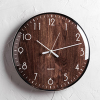 Nordic Mute Wall Clock Modern Minimalist Creative Decoration...