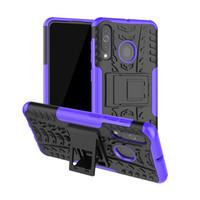 Per il caso principale di Samsung Galaxy Mini J1 colorato stand robusto Combo Hybrid armatura armi della copertura della staffa per la galassia mini J1 Prime J106