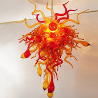 패션 램프 소박한 스타일 아트 블로딩 매달려 샹들리에 램프 카지노 / 바 / 교회 / 호텔 및 홈 장식