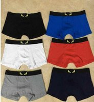 More Famous Designer Boxer Man Cotton Underwear Shorts Men L...
