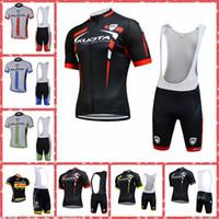 2019 Kuota Team Cykling Korta ärmar Jersey Bib Shorts Sätter Andningsbara kläder Pro Team Hot New Quick-Dry Multi Typer Style M30714