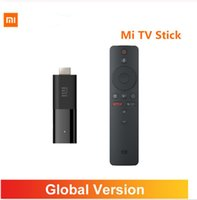 Küresel Sürüm Xiaomi Mi TV stick Android TV 9.0 Akıllı 2K HDR 1GBRAM 8GBROM Bluetooth4.2 Mini TV Dongle Wifi Google Yardımcısı