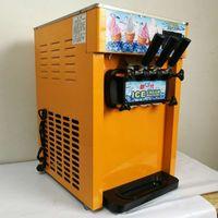 18L 3 populaire bureau saveur molle servir machine à crème glacée / machine à crème glacée molle avec prix spécial