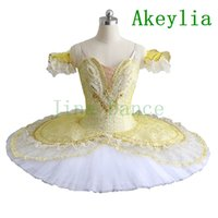 Adult girls Gold White Queen Professional Ballet Tutu Perfor...