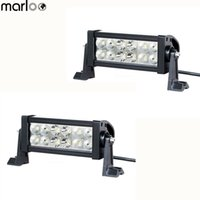 2pcs 7. 5 Inch 36W LED Work Lights Bar 12v 24v Trucks SUV ATV...