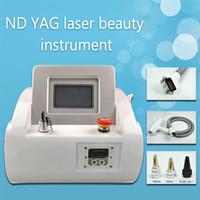 hochwertige yag laser tattoo laser entfernungsmaschine tätowiert ausrüstung mit shoots pigmentation treatment ce