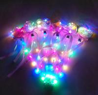 Luminescents Light Stick-Up Magic Ball Jouets pour enfants Baguette Glow Boule Jouet Bâton Led caoutchouc pour anniversaire Princesse Halloween Kid cadeau