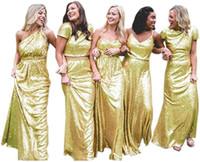 Charmante demoiselle d'honneur Bourgogne Robe Rose Gold Seaurs Long Soirée Robes de bal de bal Backless Head Honor Robe Mariage Custom Custom Plus