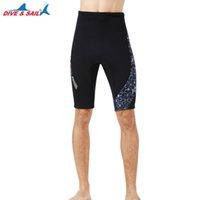 Desgaste de natación 1.5mm Neopreno Hombre de neopreno Cuadros cortos Troncos tibios gruesos Buceo Snorkeling Pantalones de natación de invierno para mujeres adultas Traje mojado Bottom