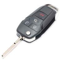 Bottone di ricambio Flip Remote Chiave dell'automobile Shell Shell Fob per Ford