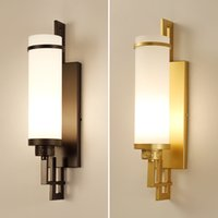 Chinese Style Wall Lamps Bedroom Bedside Lamp Modern Simple ...