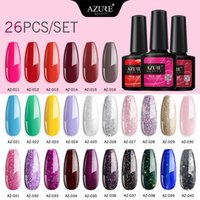 Beauty 26Pcs Lot Gel Nail Set Soak Off UV LED Base Top Coat ...