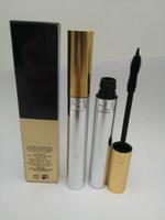 6pcs / lot envío gratis nuevo maquillaje impermeable mascara de mascara negro 10ml